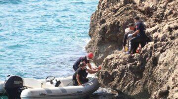 Antalya'da 40 metrelik falezlerden düşüp yaralanan kişi hayatını kaybetti